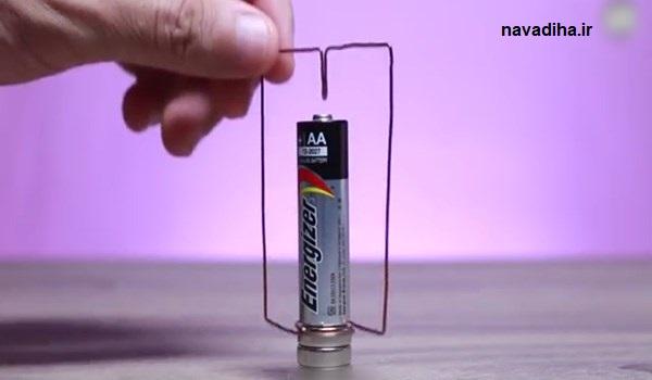 فیلم کارهای جالبی که با باتری میتوان انجام داد