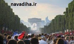 شورش در پاریس، بعد از قهرمانی فرانسه در جام جهانی+ فیلم
