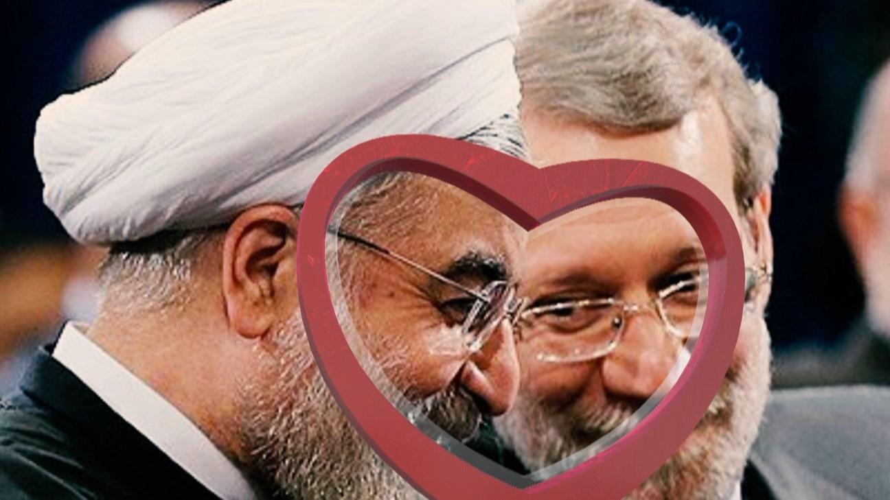کلیپ صداگذاری خنده دار روحانی در مجلس!