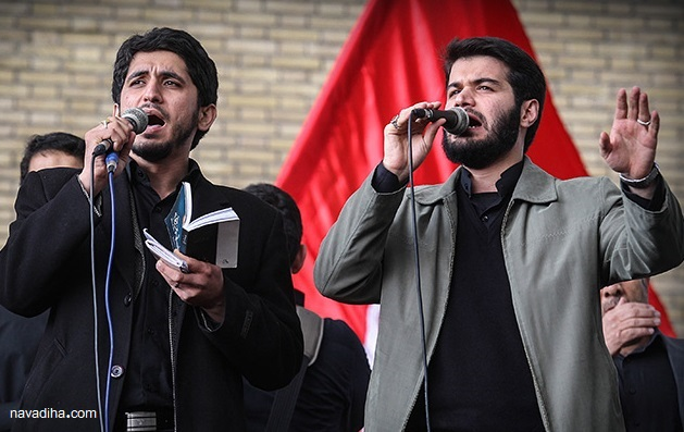 دانلود مداحی جدید امیر عباسی برای حجاب +متن شعر
