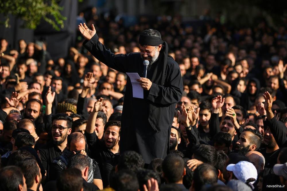تقدیر رهبری از چهارپایه خوانی محمود کریمی در محرم ۹۸ + صوت