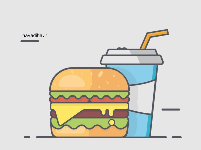 راهکارهای ساده برای ترک خوردن فست فود ، سوسیس و کالباس و نوشابه