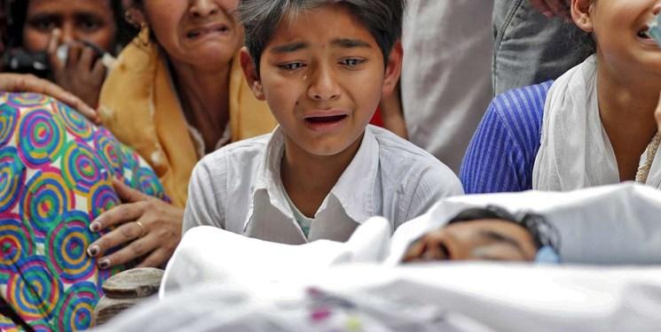 دو عکس از کشتار و حملات وحشیانه به مسلمانان هند